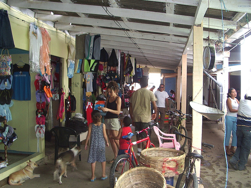 San Juan del Sur Market (photo courtesy of Tyten http://www.flickr.com/photos/22689802@N07/)