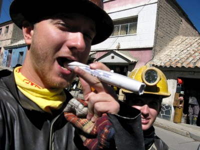 Yes, that`s real dynamite in his mouth