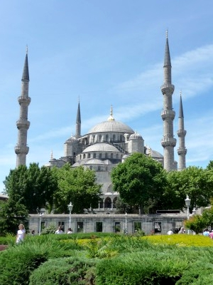 The (massive) Blue Mosque