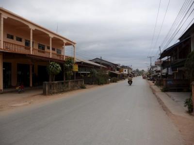 Down town Nam tha, Laos
