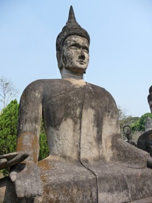 Budda feeling a bit grey