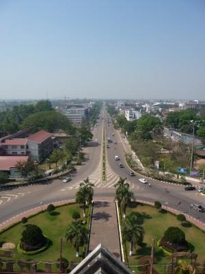 View across Vientiane